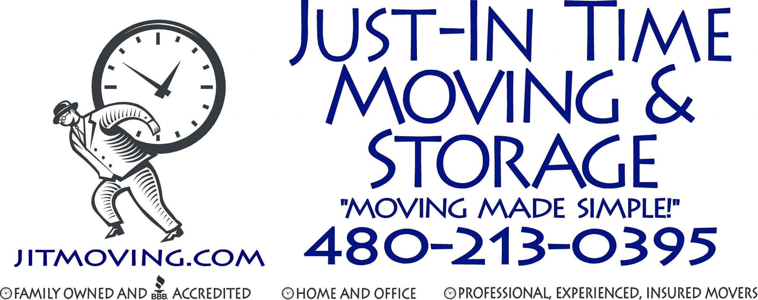 Just-In Time Moving & Storage